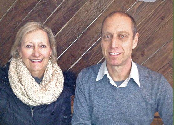 Louise and David Lebovitz