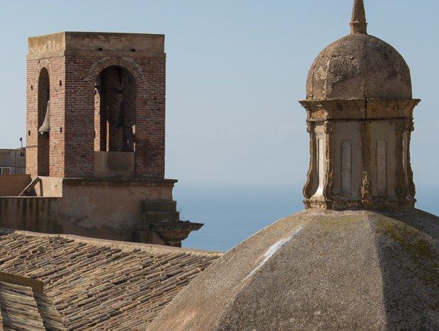 Agrigento skyline