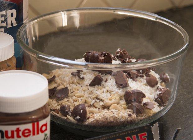 granola bars ingredients