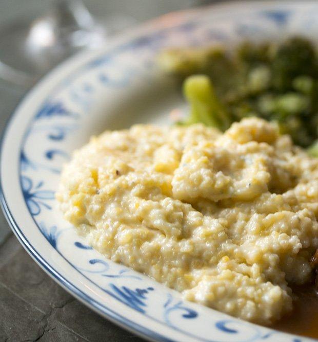 gorgonzola polenta